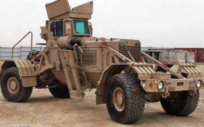 Robotic welding for SA's mine detection vehicle