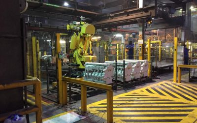 Revolutionising the foundry industry by using a robotic 3D camera system