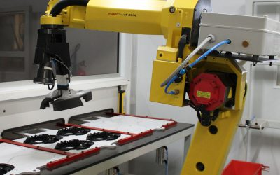 Robotic accuracy streamlines Shatterprufe production