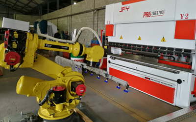 Integrating robotics to streamline bending processes