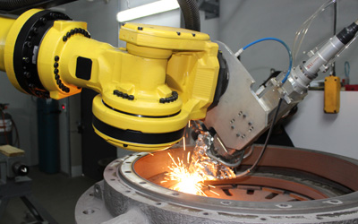 Robotic Laser Cladding Application