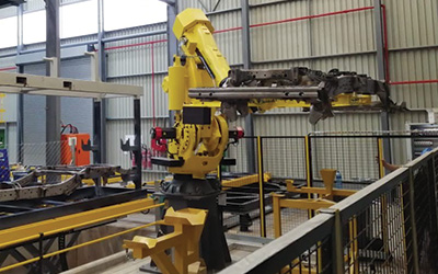 Robotic Chassis Handling Robot